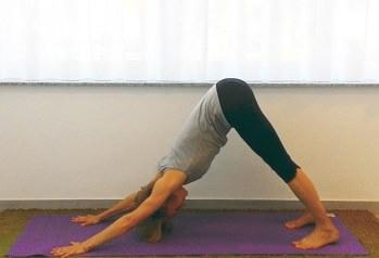 Yoga in der Turnhalle Oberplanitzing